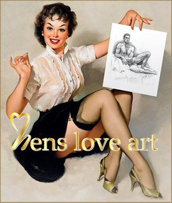 Hens love art