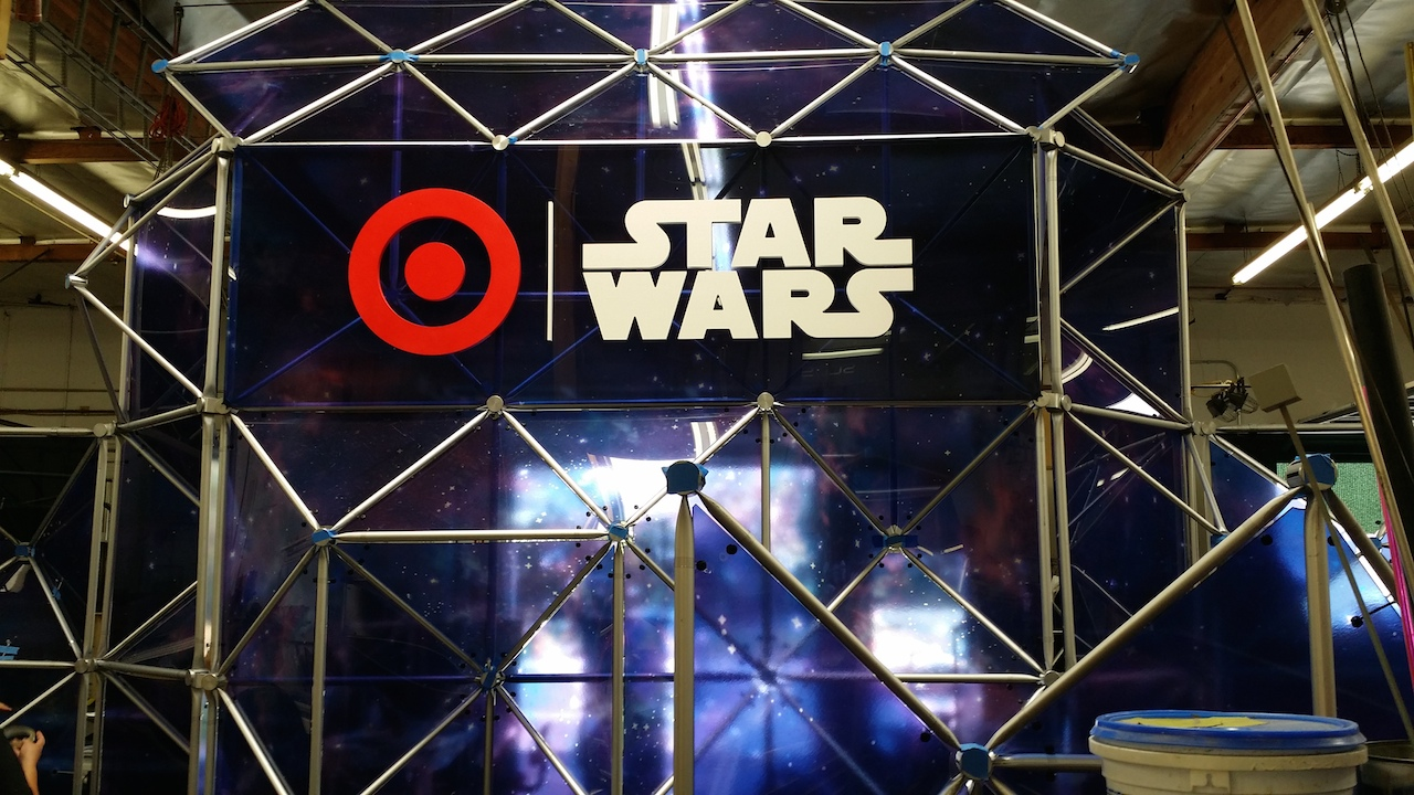 Target Share the Force Exhibit
