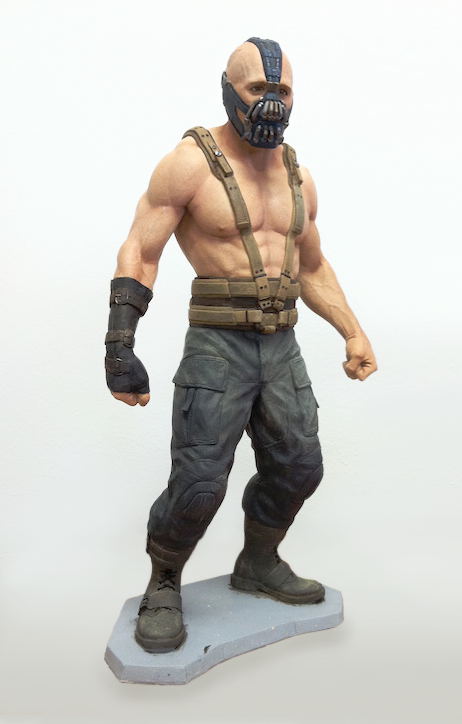 Batman: The Dark Knight Rises - We helped to produce high-end limited edition Bane statues used as awards for key members of production for the film.