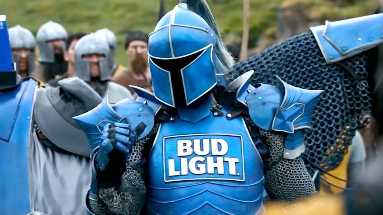 The Bud Knight Armor
