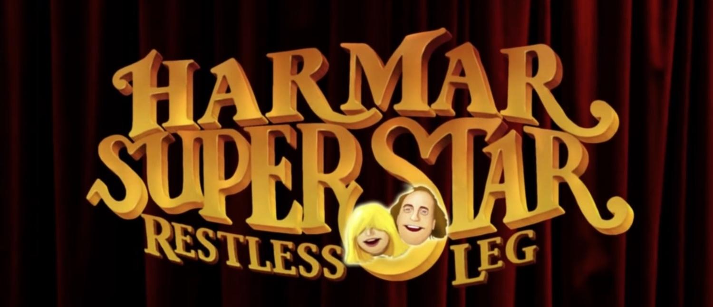 """HAR MAR SUPERSTAR """"RESTLESS LEG""""  2014"""