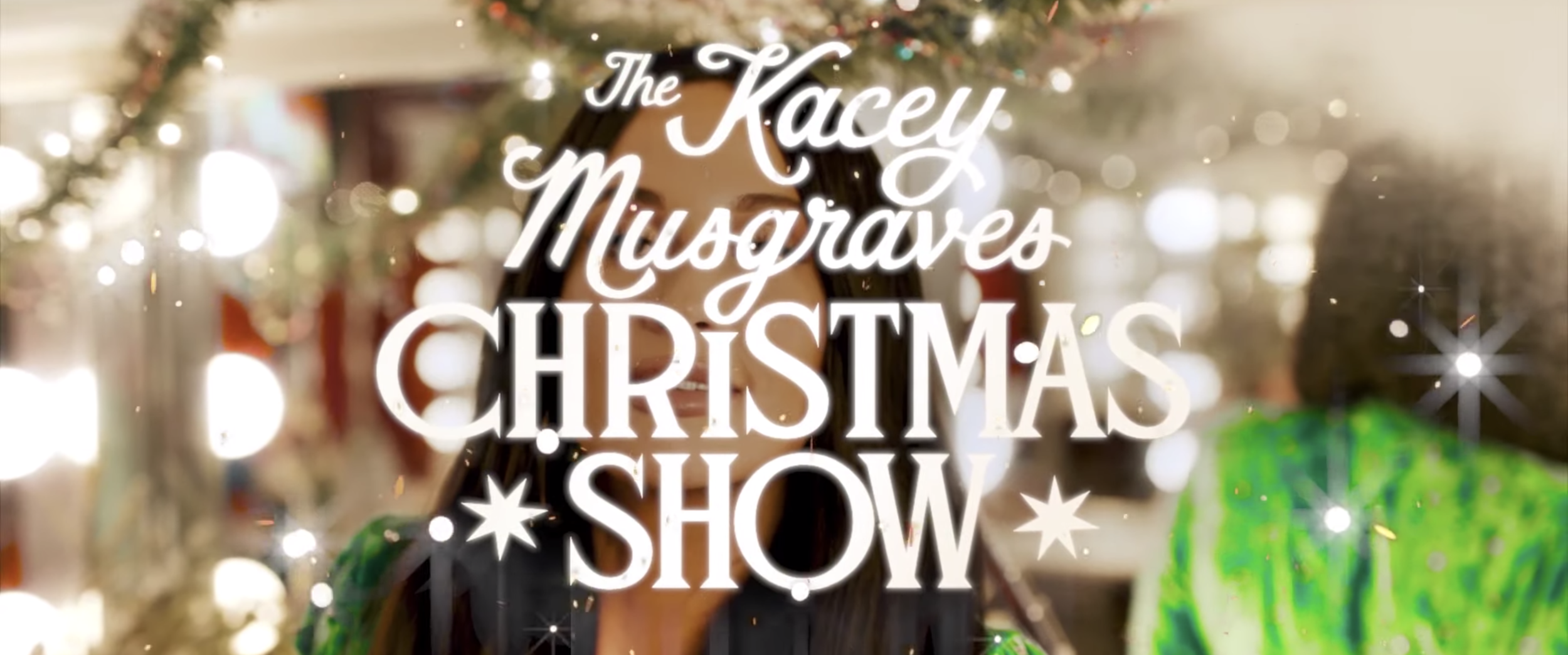 THE KACEY MUSGRAVES CHRISTMAS SHOW TEASER  2019