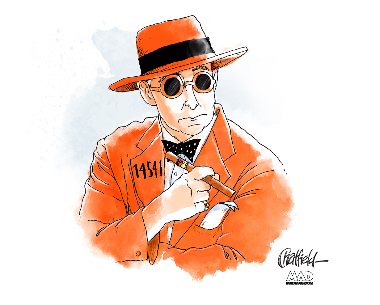 jason chatfield roger stone illustration mad magazine