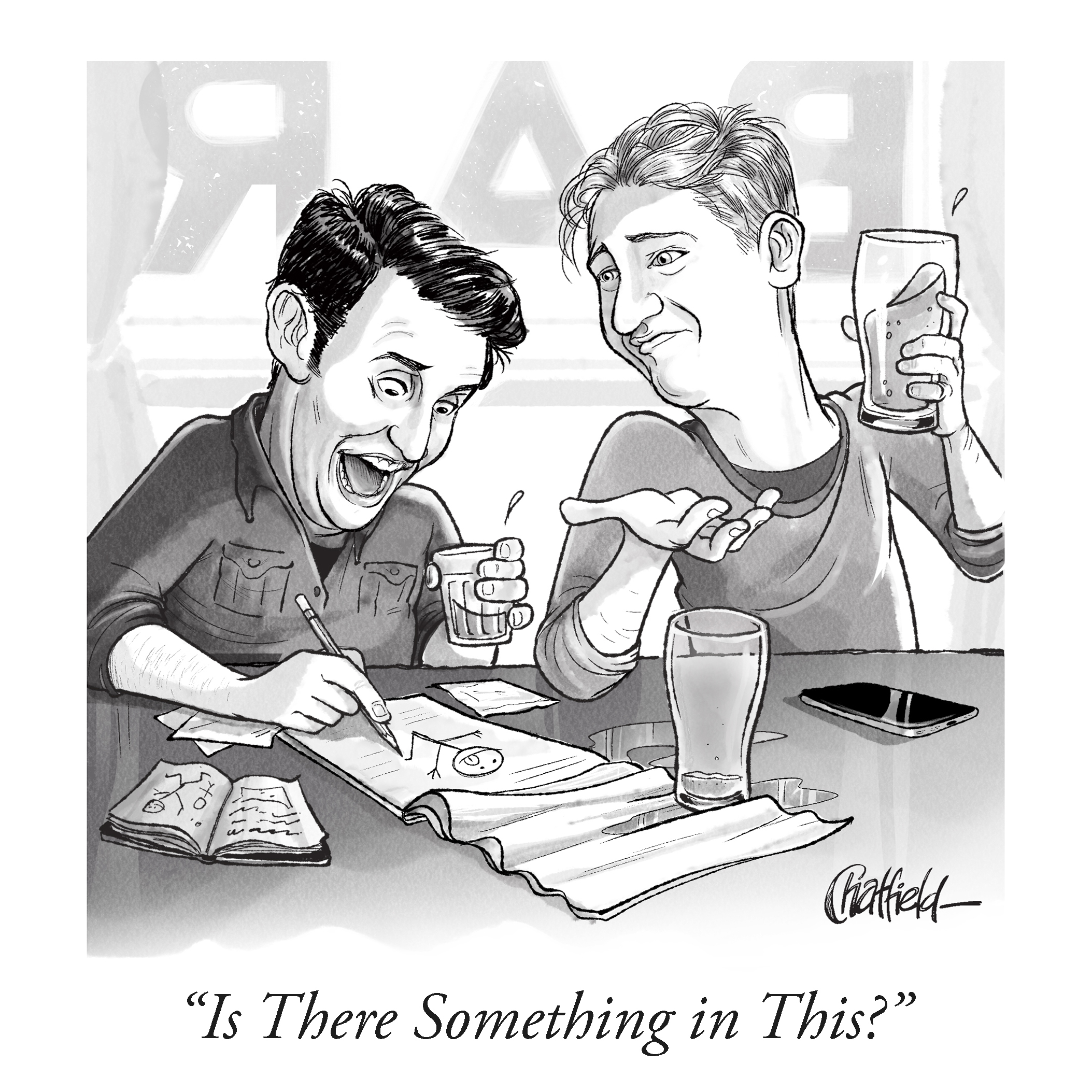 How To Submit To The New Yorker New Yorker Cartoonist Jason Chatfield