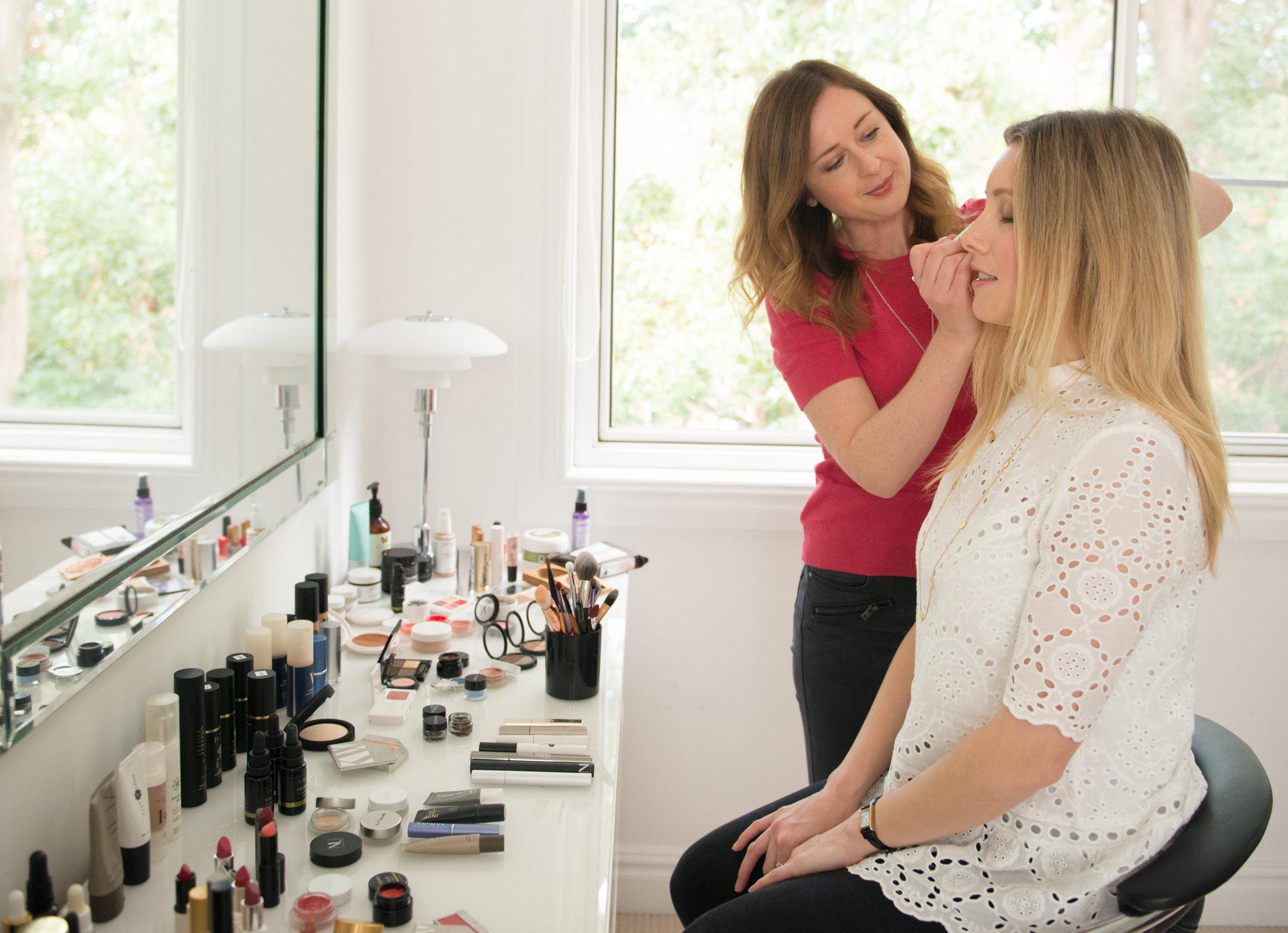 Organic Makeup Lesson
