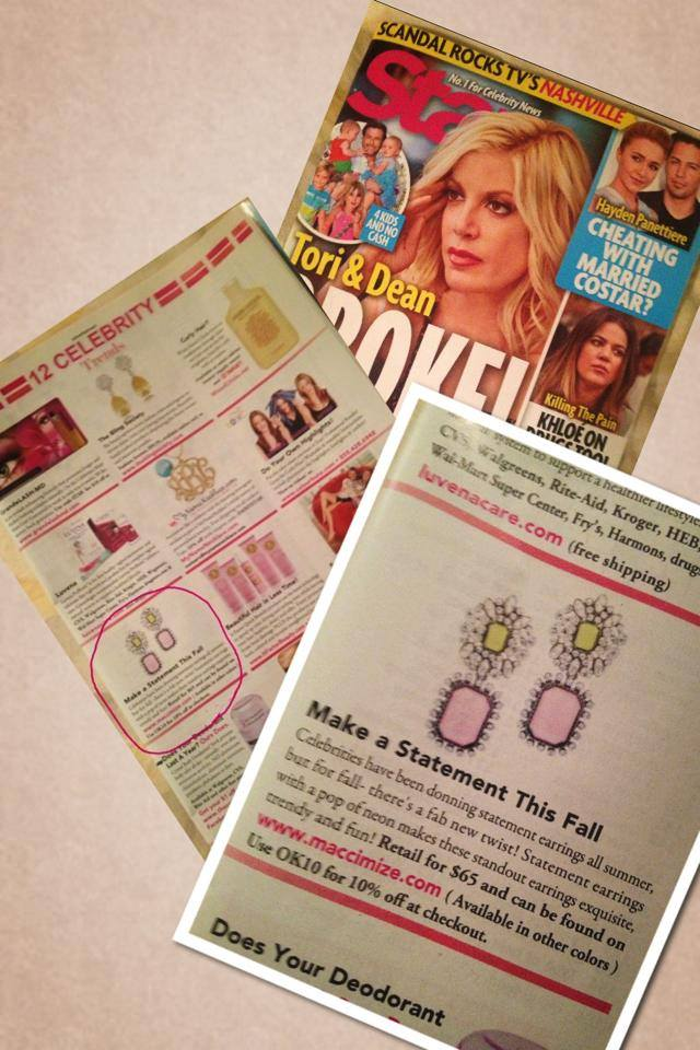 Maccimize in Star Magazine