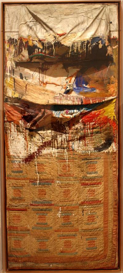 Robert Rauschenberg, Bed, 1955