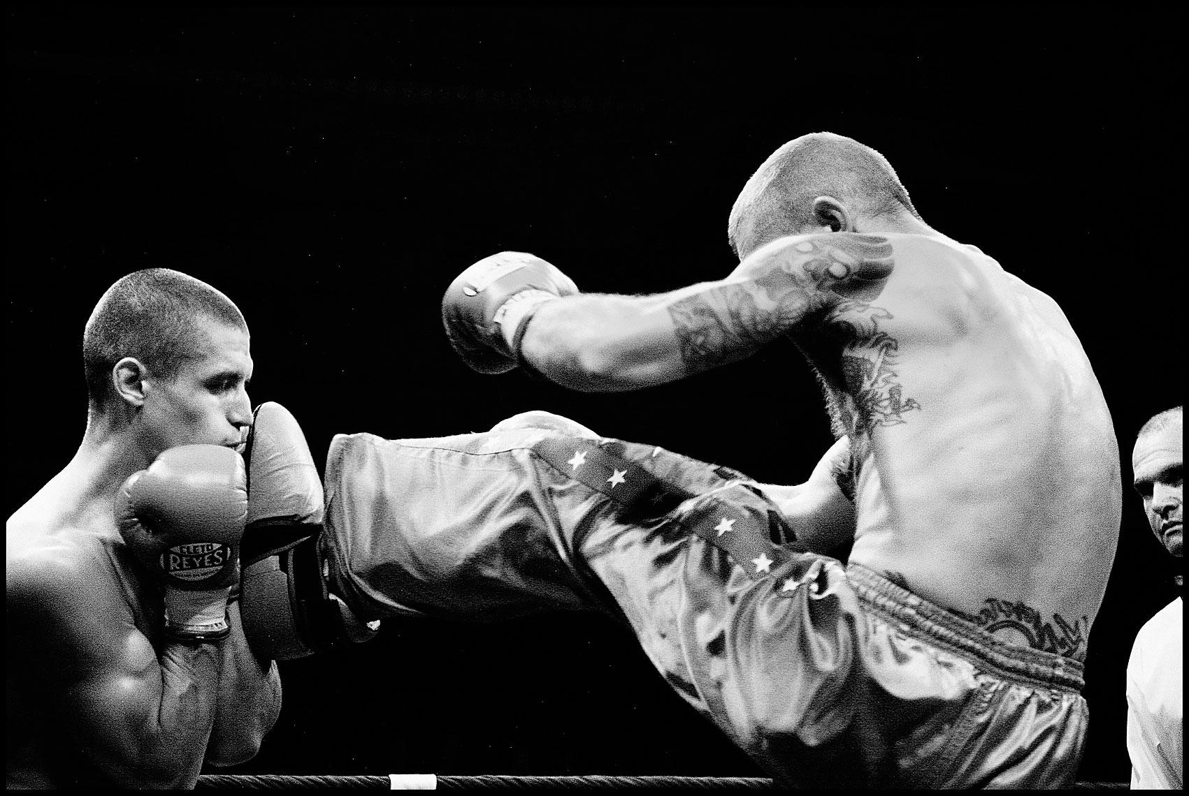 Boxe Copyright Bertrand Cottet