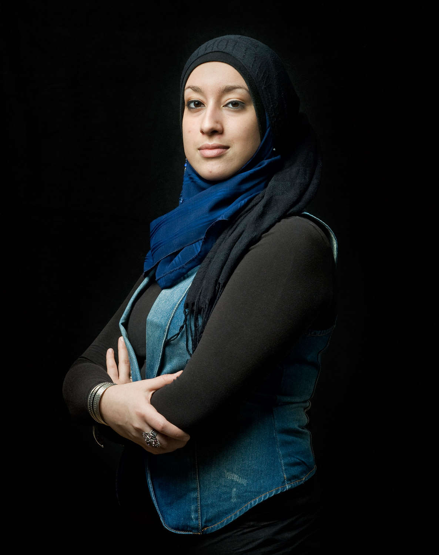 Rokia el Abassi, originaire d'Algérie
