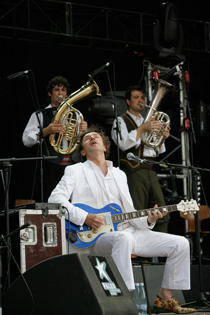 Goran Bregovic, Paléo Festival, Nyon, Suisse, le 18 juillet 2006