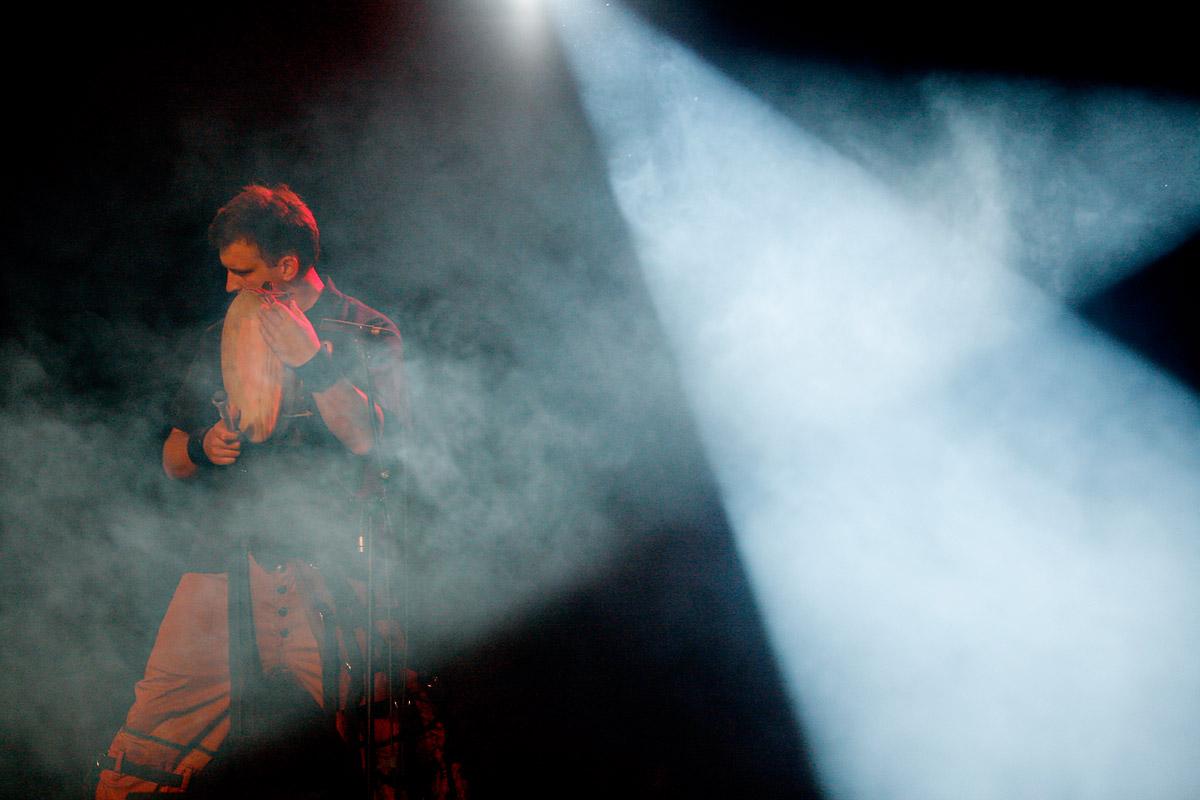 Warsaw Village Band en concert au Paléo Festival, Nyon, Suisse, le 21 juillet 2006.