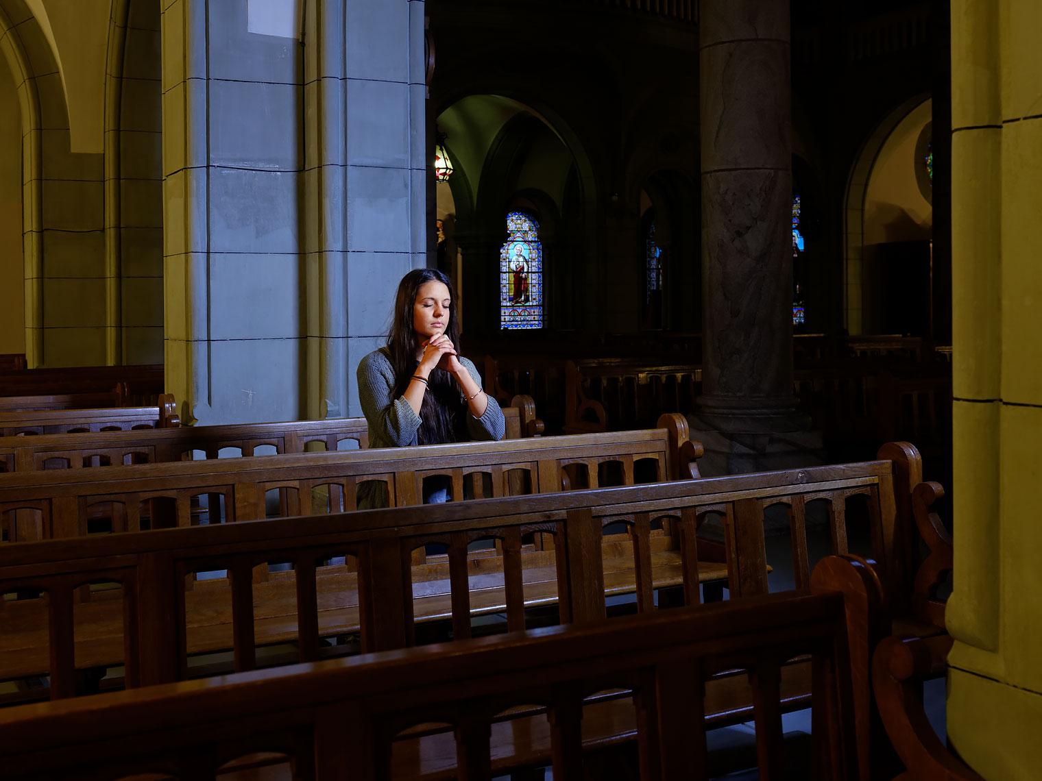 Sungan Singh à l'Eglise de Montreux.