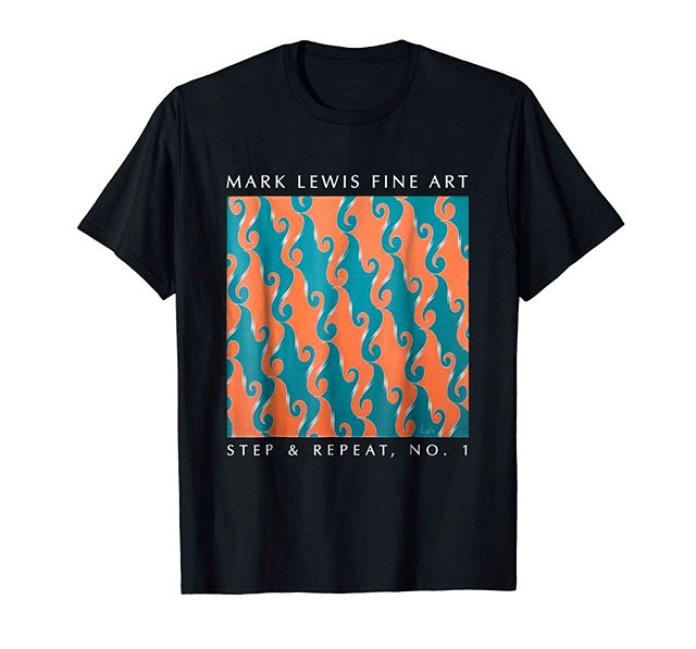 T-SHIRT: Step & Repeat, No. 1⠀ Men's & Women's versions available and in several colours. ⠀ Lightweight, Classic fit, Double-needle sleeve and bottom hem.⠀ https://buff.ly/2KiAR2X or link in bio   Merch By Amazon⠀ ⠀ #artistic #paintings #originalart #abstractart #modernart #contemporyart  #minimalart #minimalist #minimalism #fineart #tshirt #clothing #apparel #fashion #fashionaddict #fashionist #Fashionista #instafashion #womenswear  #womensclothes #mensclothes #Loungewear #workoutwear #workoutfashion #modernwear #wearableart #fitnessfashion #fashiongram #streetwear