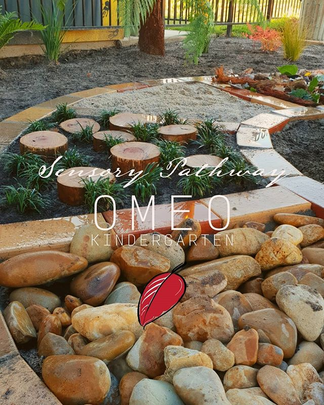 We've been super busy at #omeokindergarten creating an sensory haven that will excite young minds ❤ . . . .  #landscapingaustralia #landscapers_of_instagram #landscapersaustralia #exteriordesign #sensorypath #landscaping #landscapedesign #playspace #garden #loveeastgippsland #workthings #livin #learning #australia #vichighcountry #gardeningaustraliamag #landscapeaustralia #omeoregion #buildinggardens