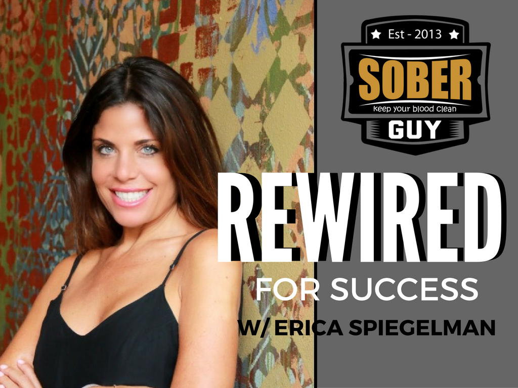 Erica Spielgelman on Sober Guy Radio