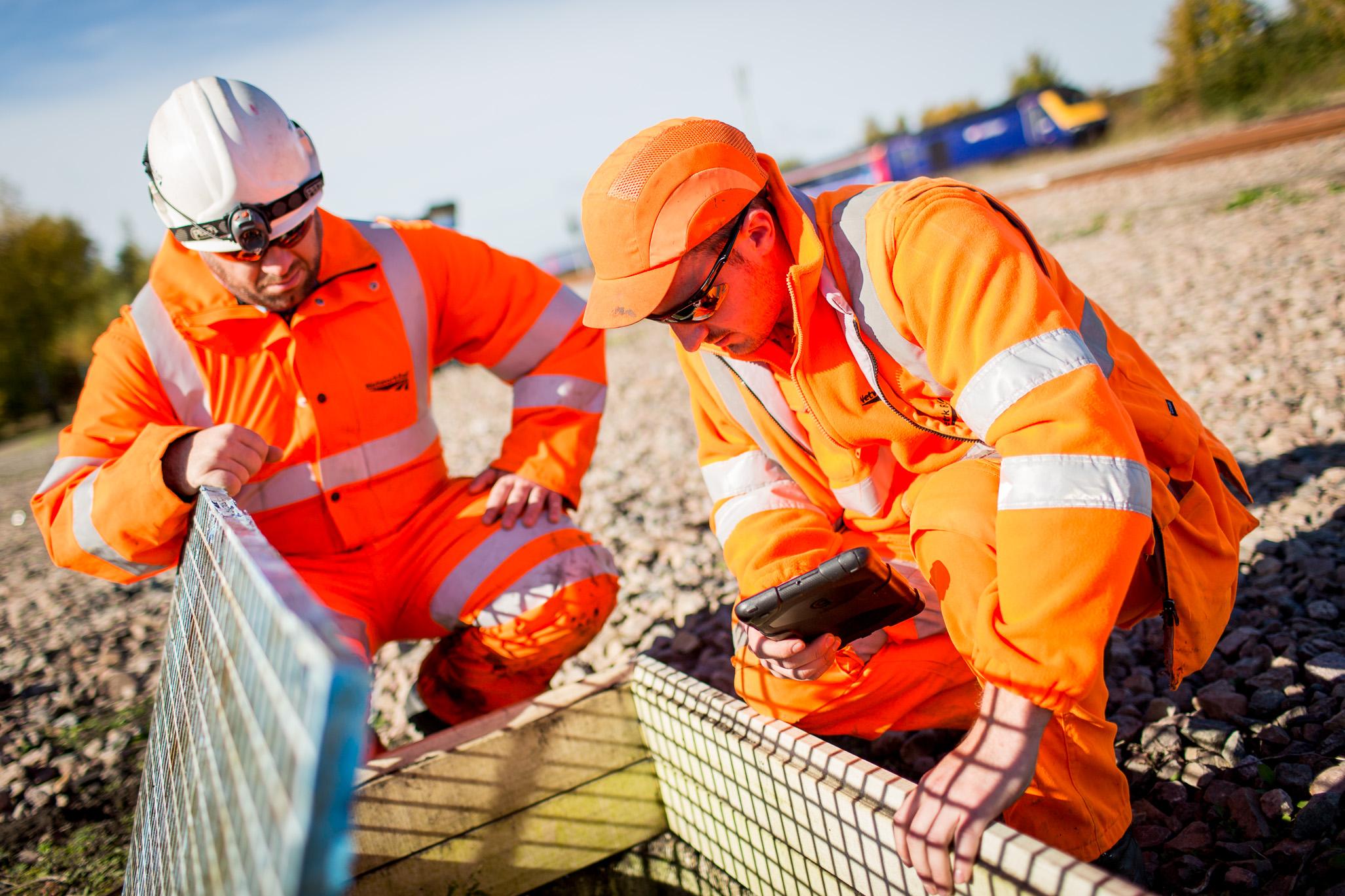 Rail upgrade work for Network magazine