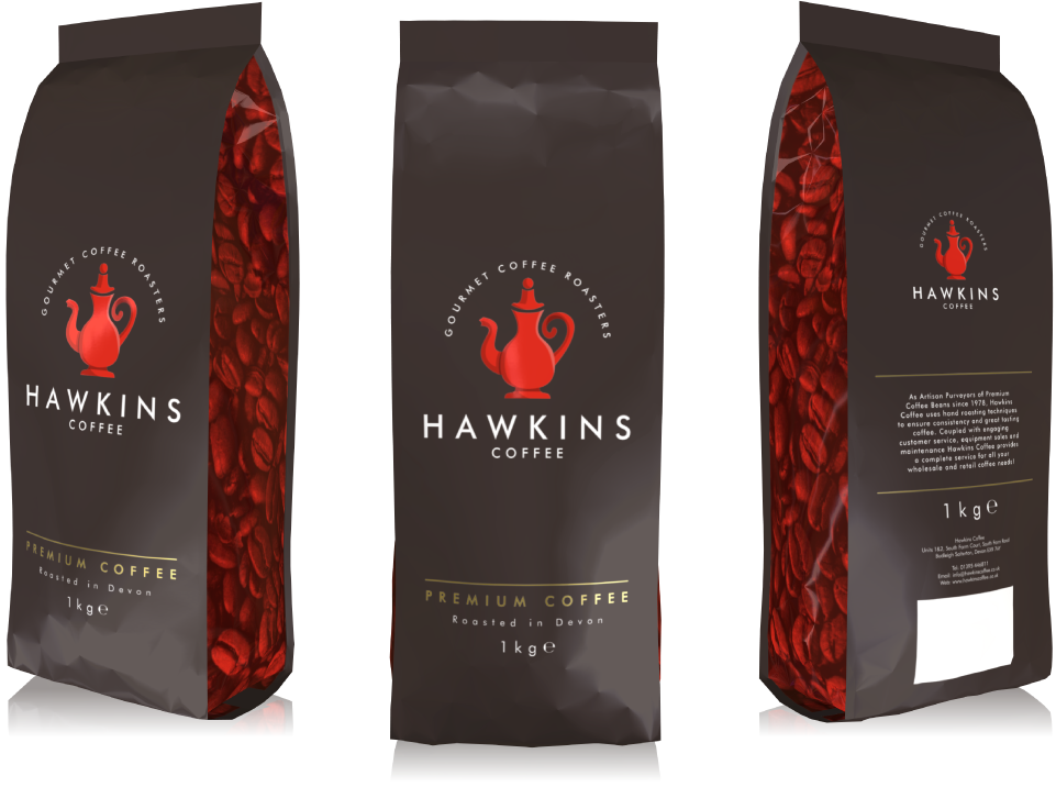 Hawkins Coffee Branding and packaging design by AD Profile