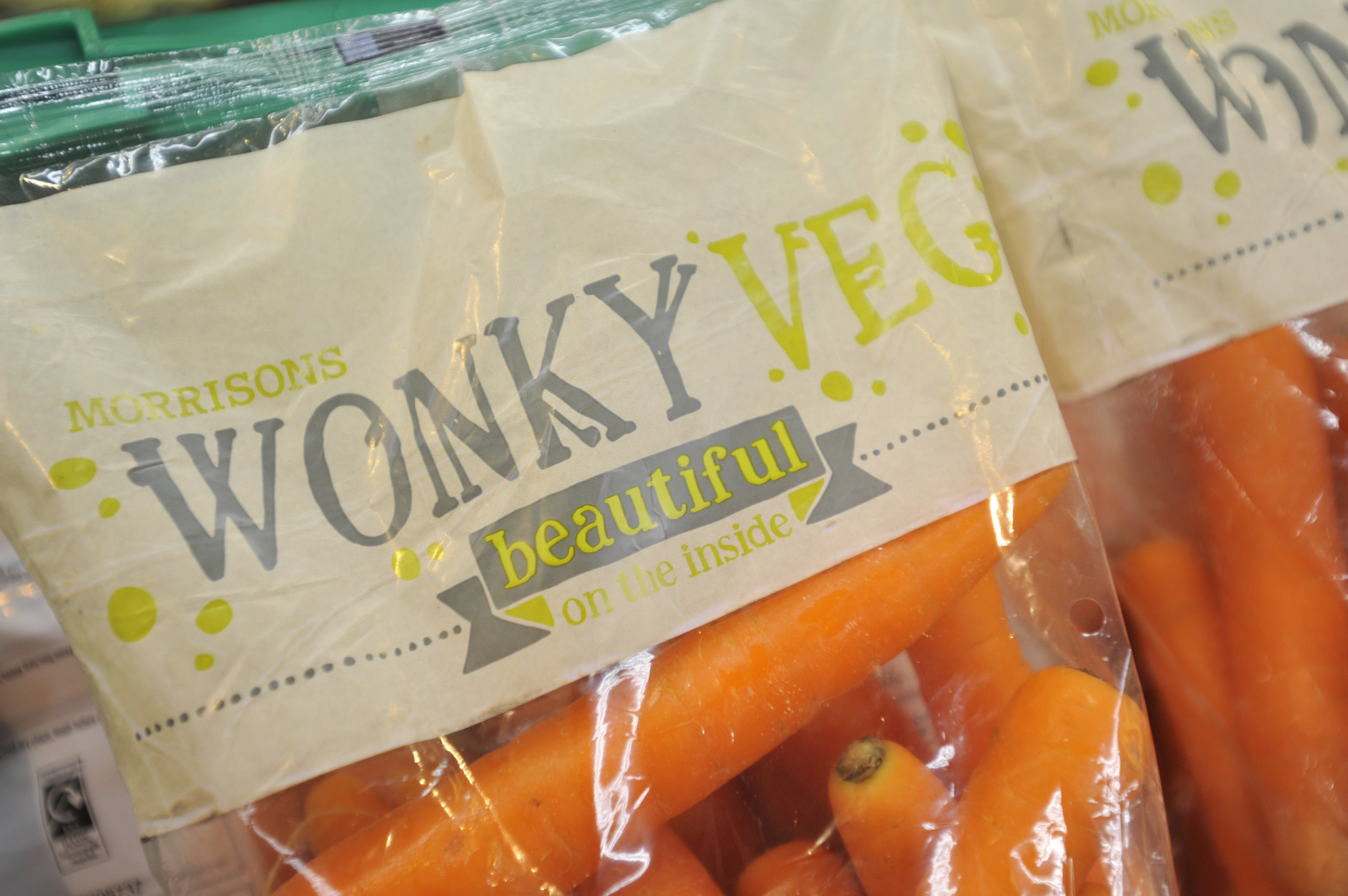 Morrisons Wonky Veg Carrots