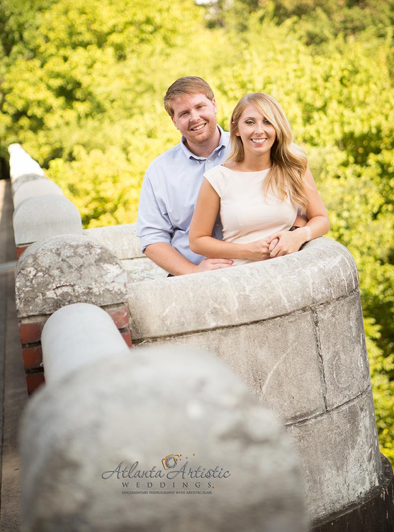 Engagement Photography in Atlanta by www.atlantaartisticweddings.com