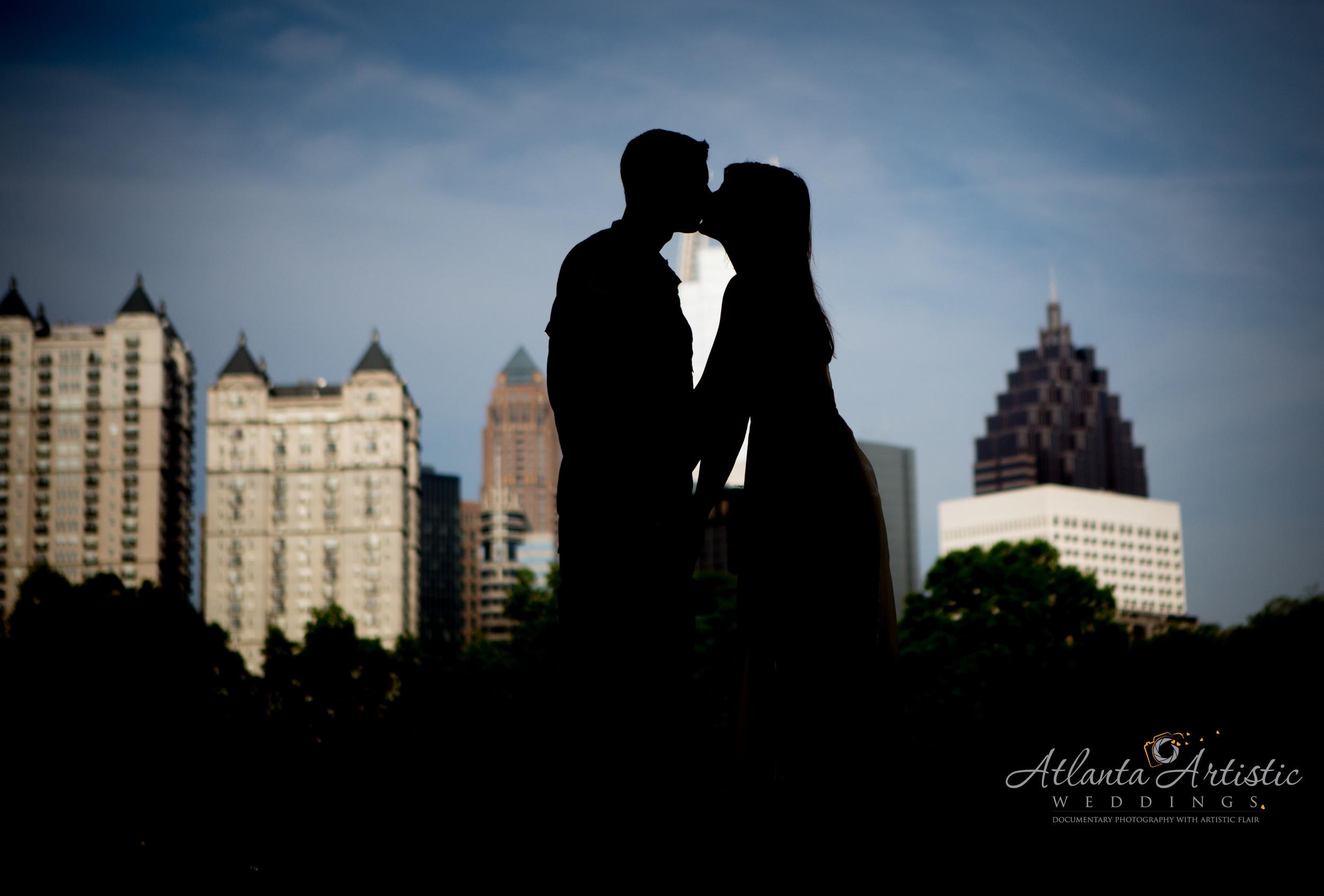 Photo locations in Atlanta by wedding photographers at  www.atlantaartisticweddings.com