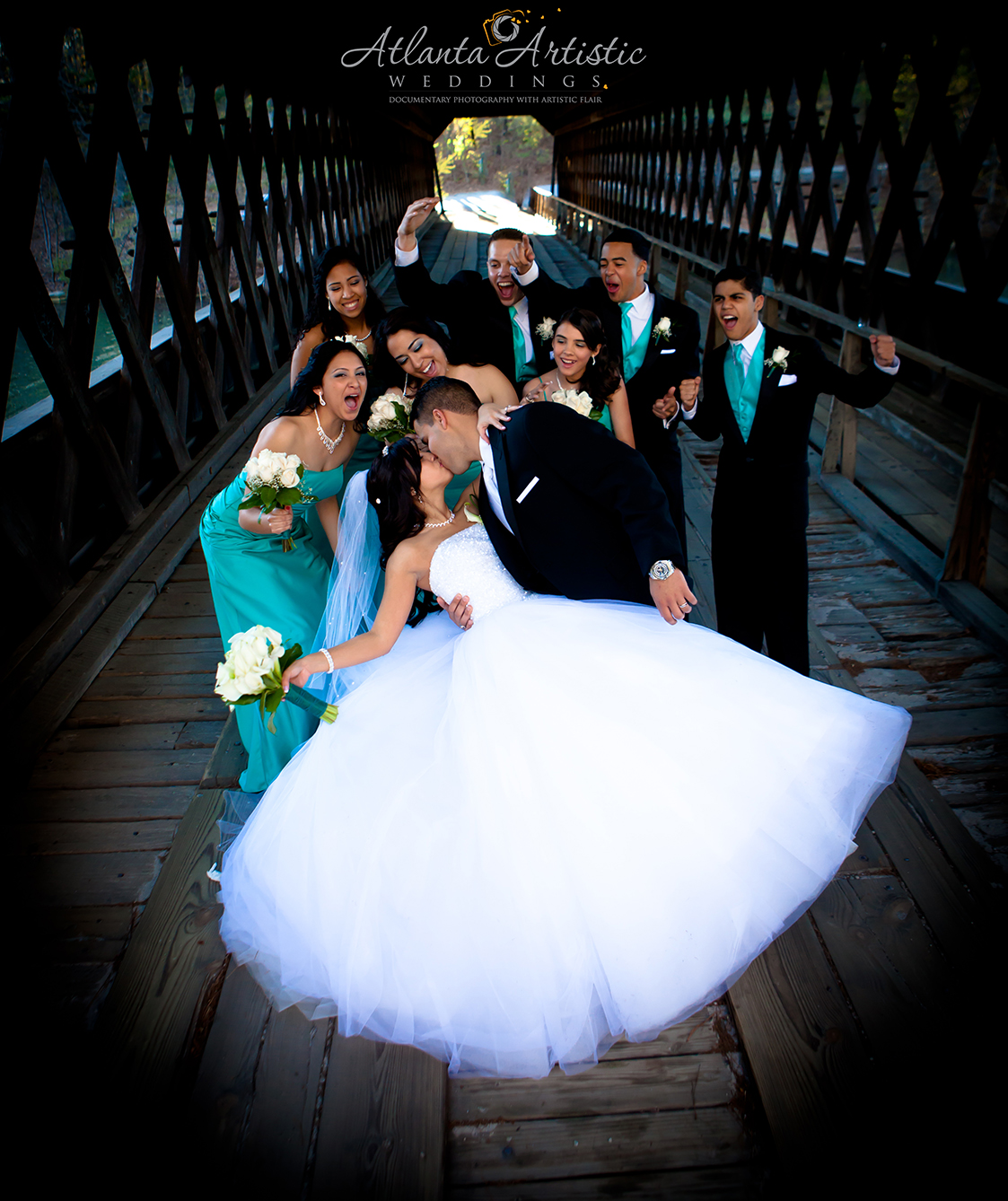 Award winning wedding photography by  www.atlantaartisticweddings.com