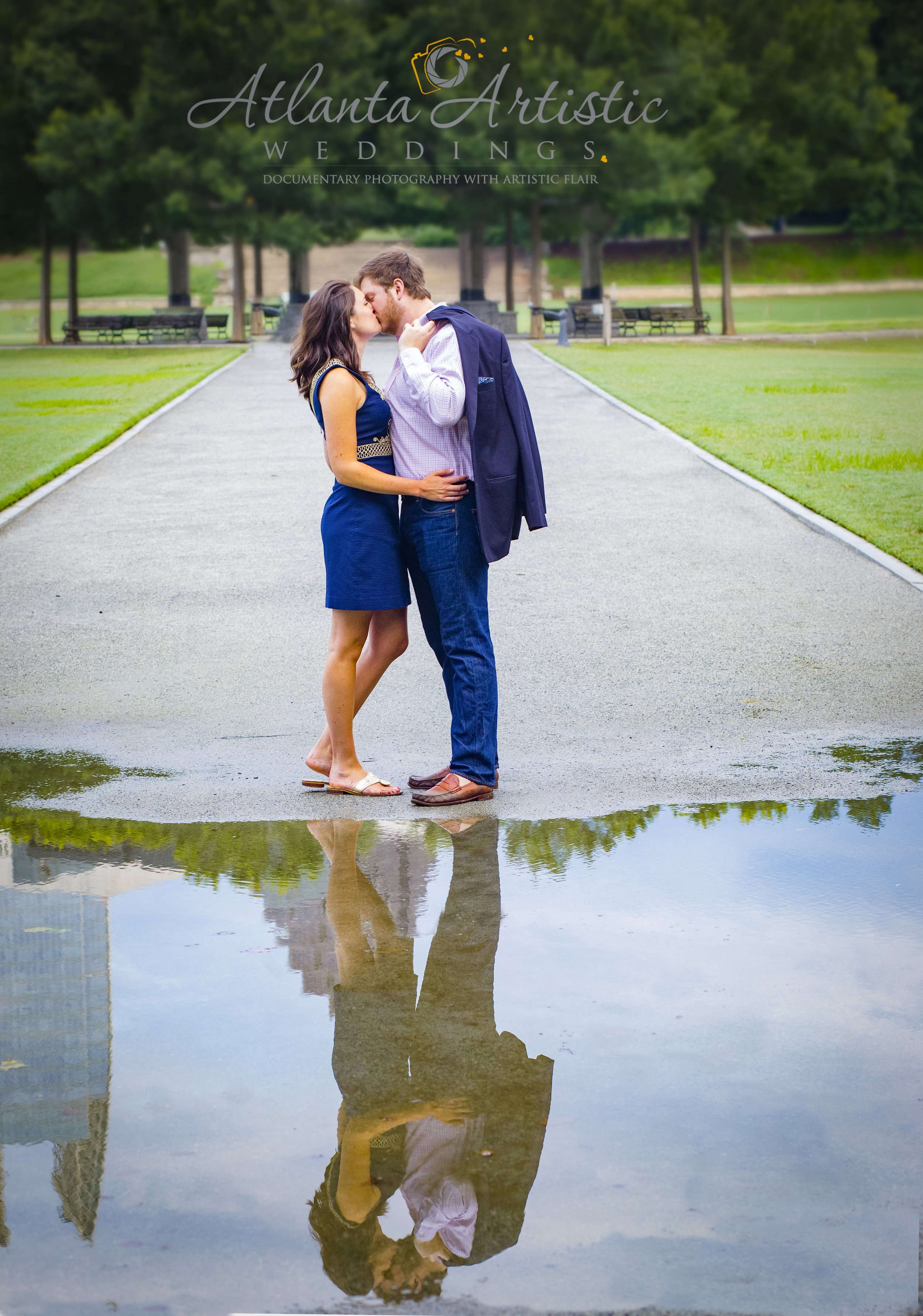 Engagement session by Atlanta Artistic Weddings