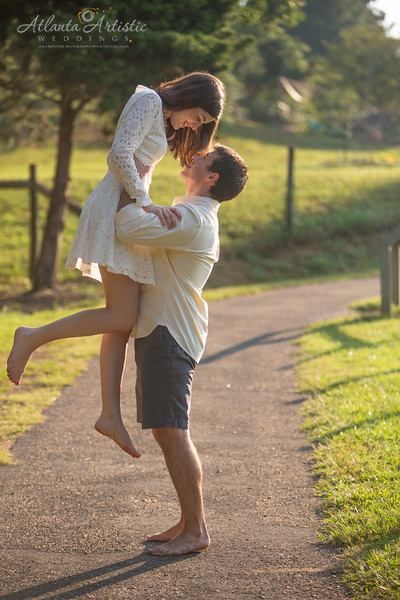 Have fun with each other at you engagement session!