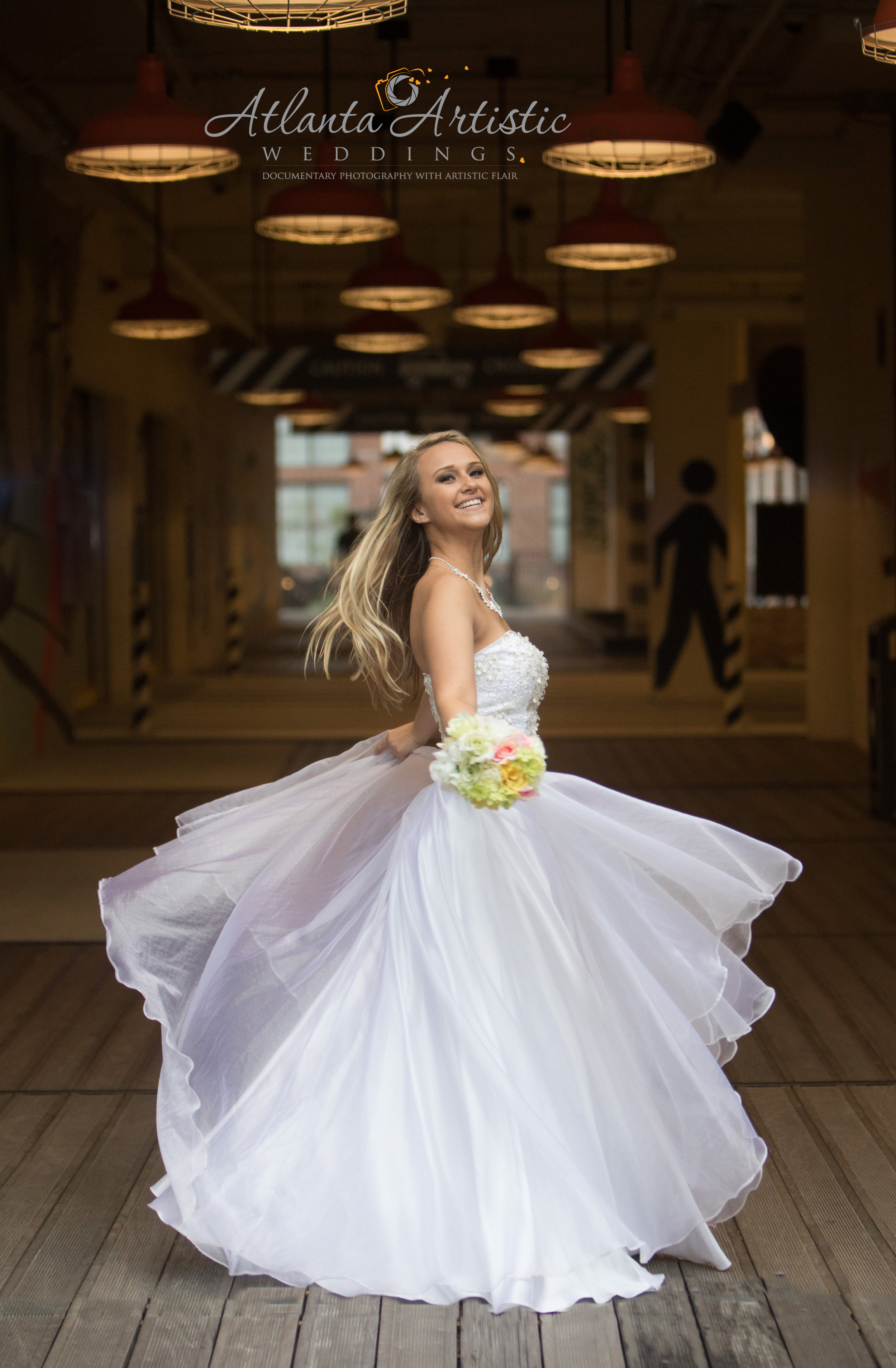 Bride at Ponce City Market