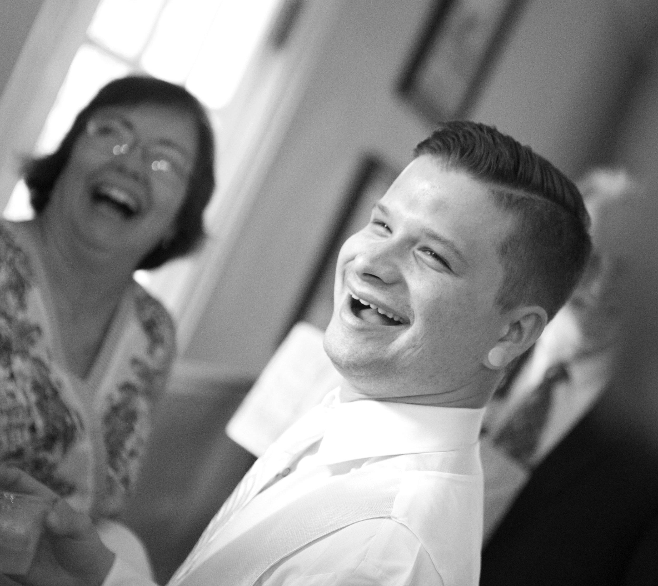 Getting ready photo by the Atlanta wedding photographers at AtlantaArtisticWeddings