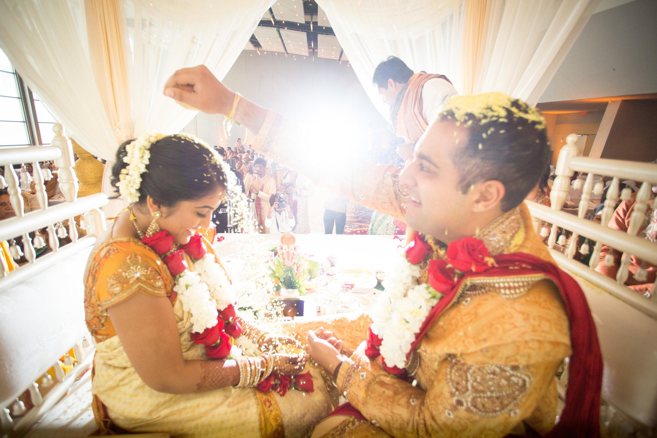 The Rice Ceremony capture by Atlanta Artistic Weddings