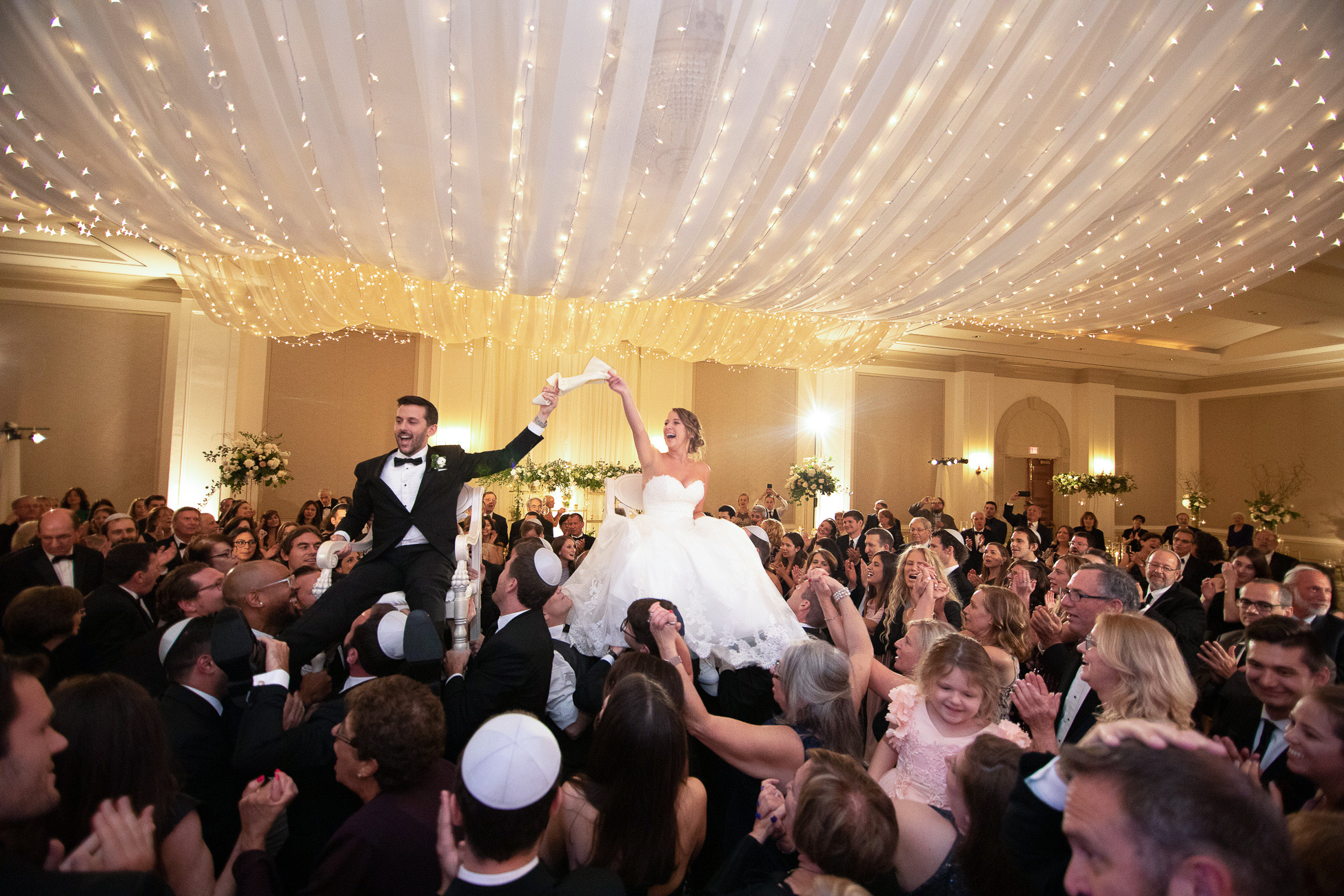 Wedding Reception Celebration - Photography by the Atlanta Wedding photographers at AtlantaArtisticWeddings