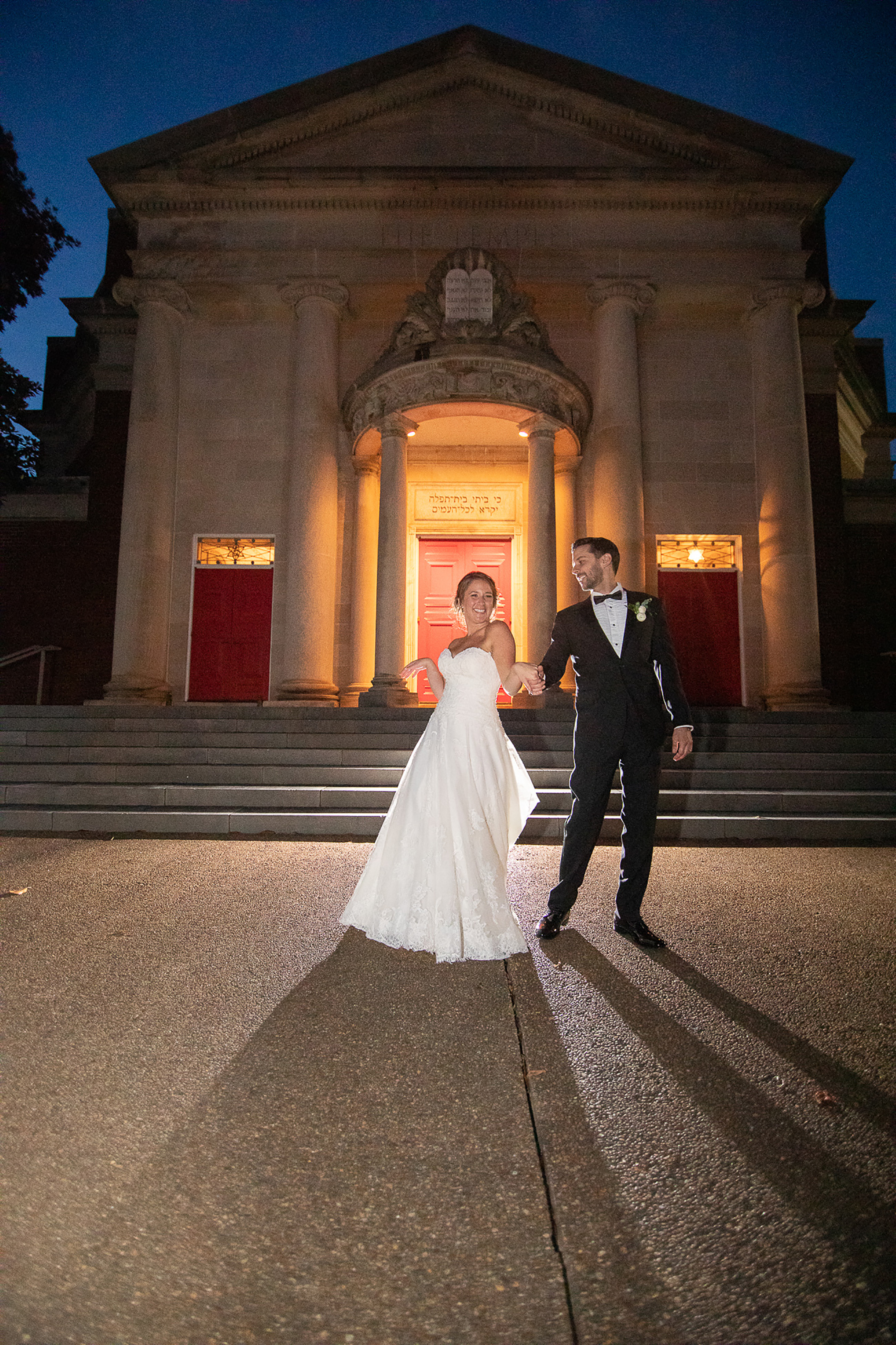 Night Photos at Blue Hour - Photography by the Atlanta Wedding photographers at AtlantaArtisticWeddings