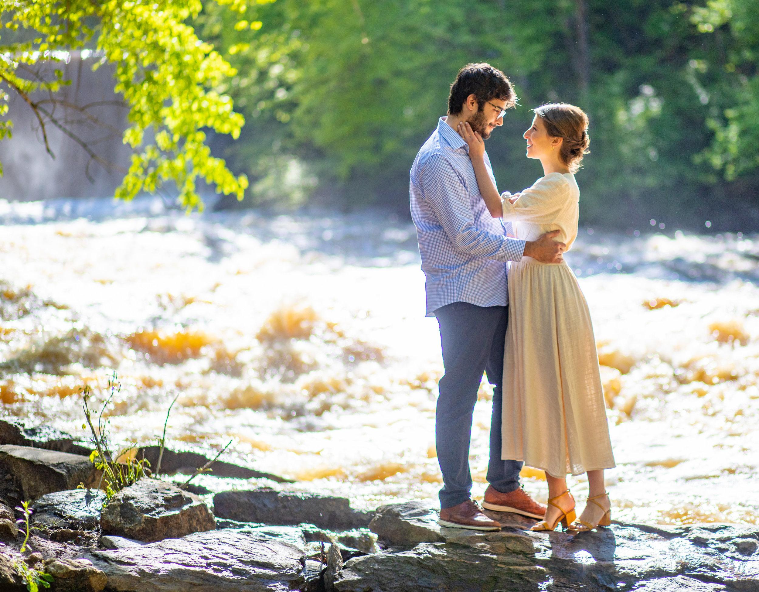 Engagement Session by the Atlanta Wedding Photographers at AtlantaArtisticWeddings