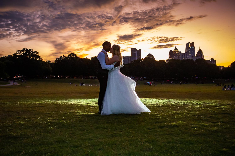 Piedmont Park photography by the Atlanta Wedding photographers at AtlantaArtisticWeddings