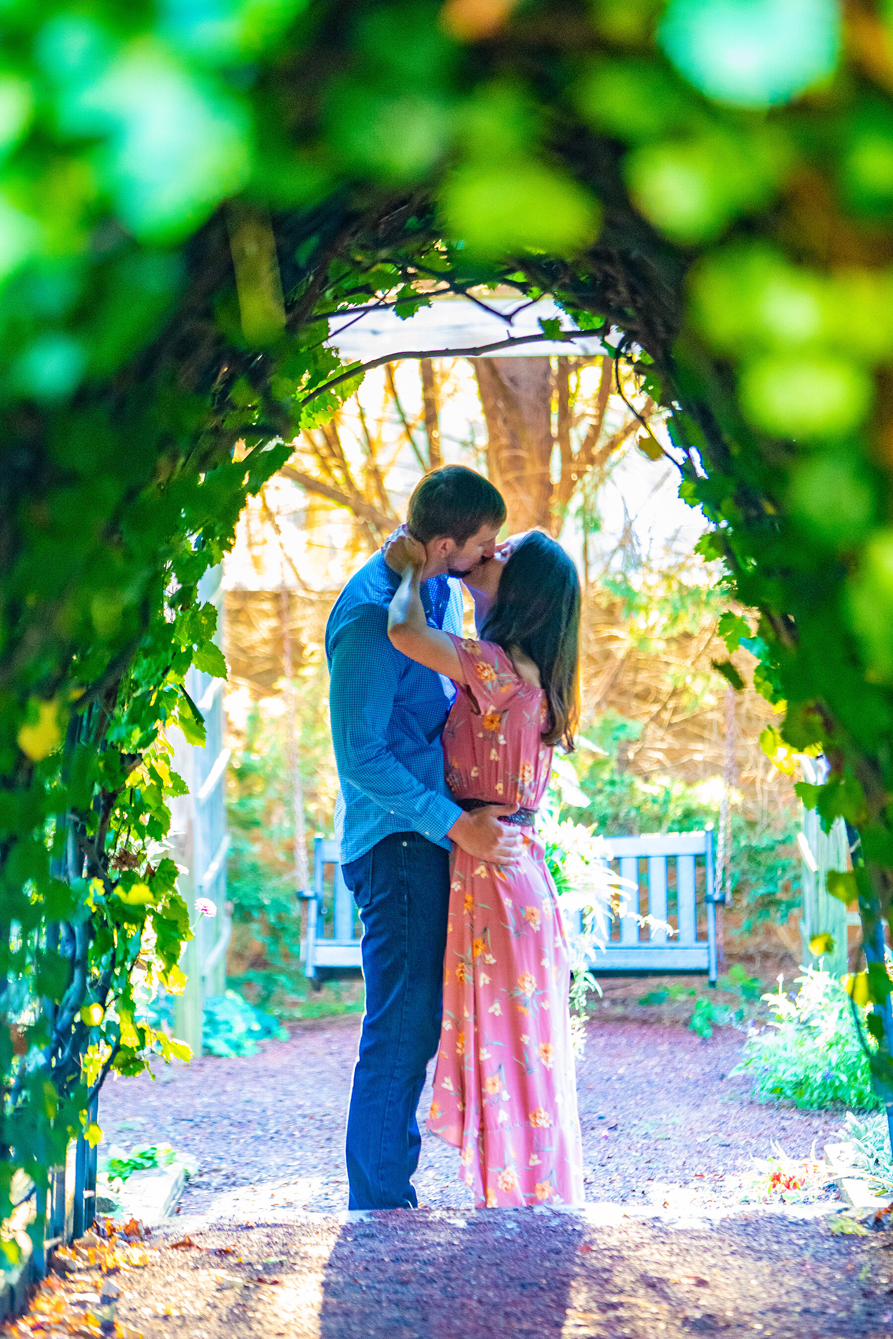 Engagement photo by the Atlanta Wedding Photographers at AtlantaArtisticWeddings