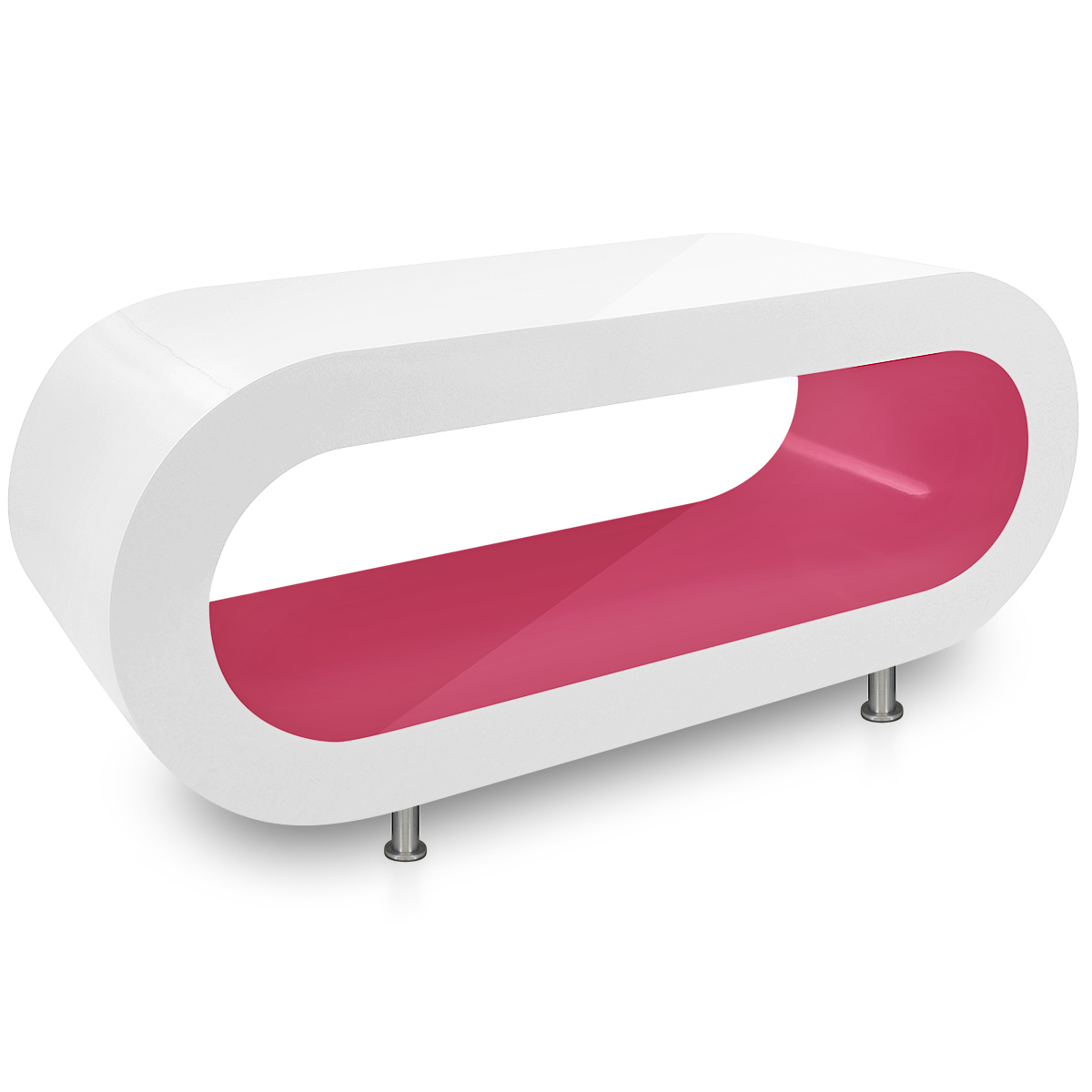 Orbit Coffee table in Pink & White Atlantic Shopping 199.00