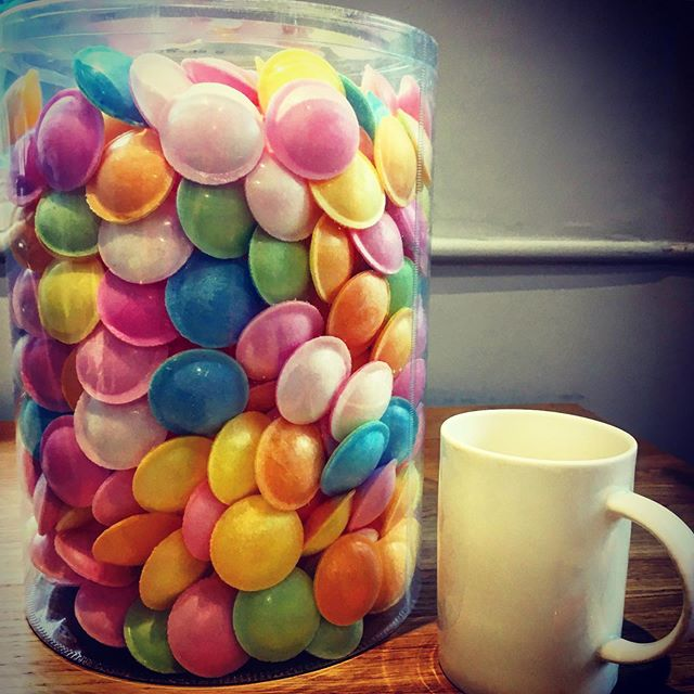 Oh how on earth did you know I like these? It's not like I go on about it. Thank you @thefarmgroup 😂 #flyingsaucers #editextras #thegrandtour #mighthavementionedflyingsauceraddictiononceortwice