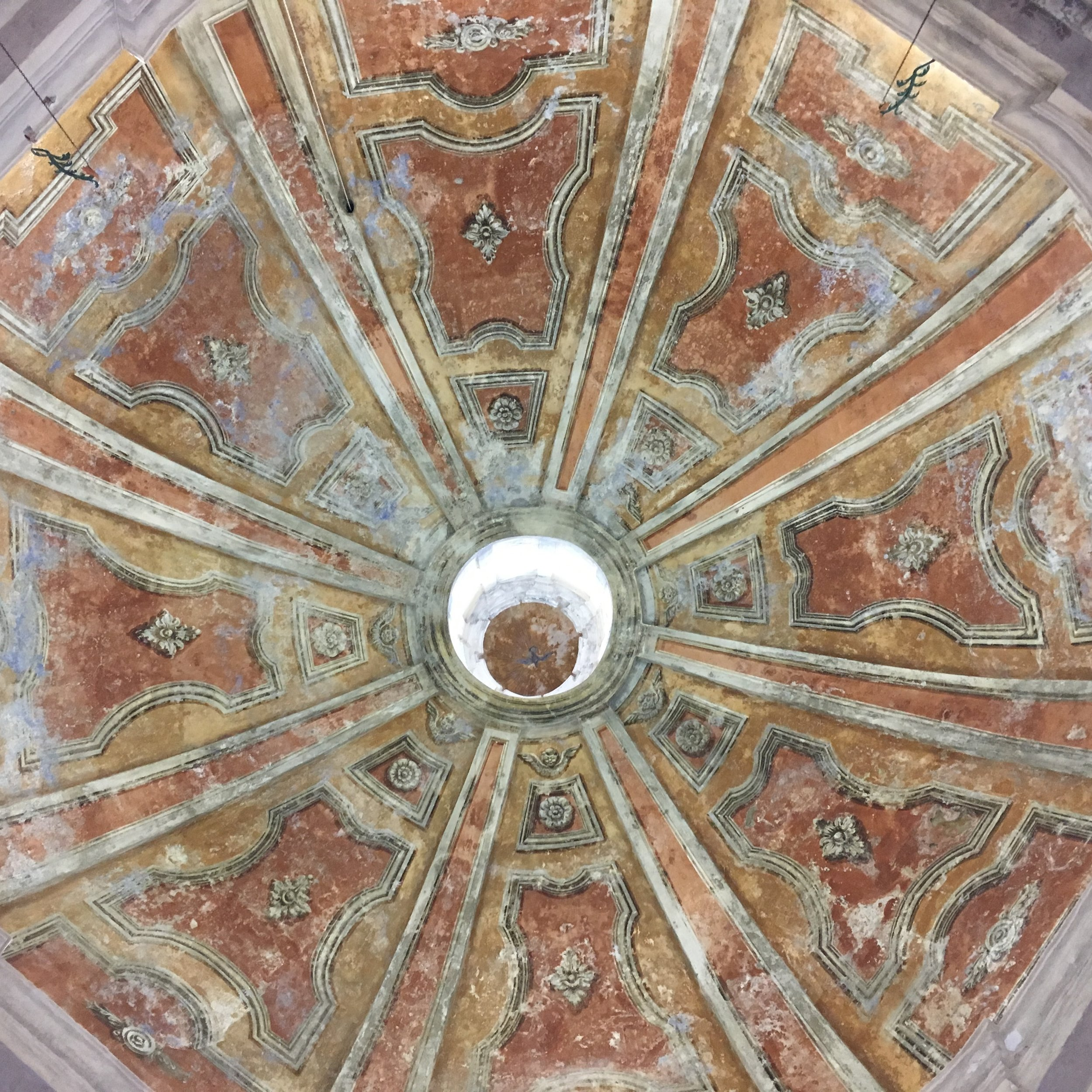 Piemonte Wine Tour - Dogliani Chapel Ceiling - La Dolce Vigna Wine Tours