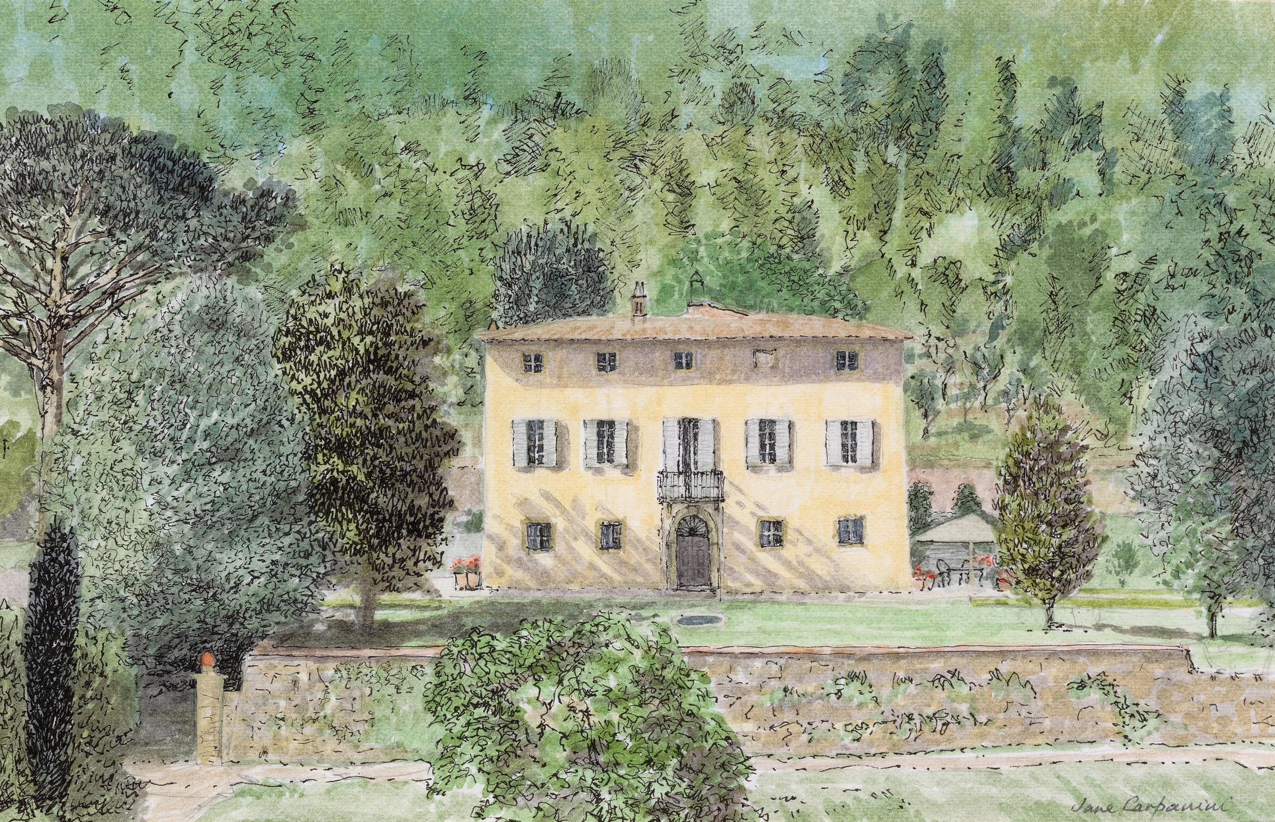 Tuscany Yoga Retreat - Our Tuscan Villa - La Dolce Vigna  Wine Tours