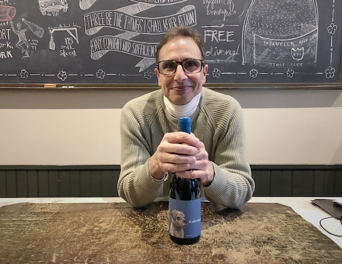 Marco Pasanella with January's Wine of the Month