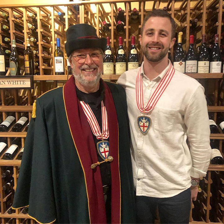 John Rittmaster (left) and one of Prima's Wine and Spirits Buyers, Peter Andrews
