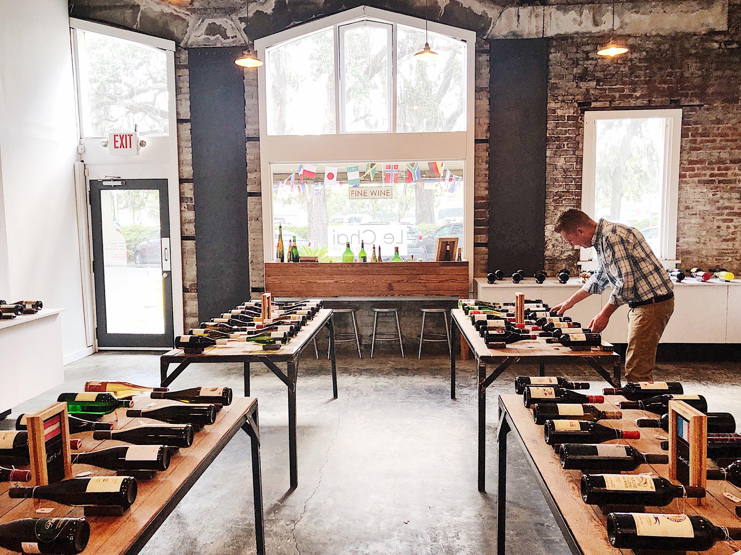 La Dolce Vigna_Le Chai-Savannah-Wine Shop.JPG