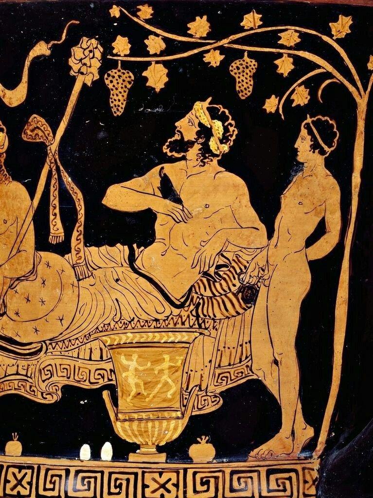 History of Spritz - Greek Vase Bacchus.jpg