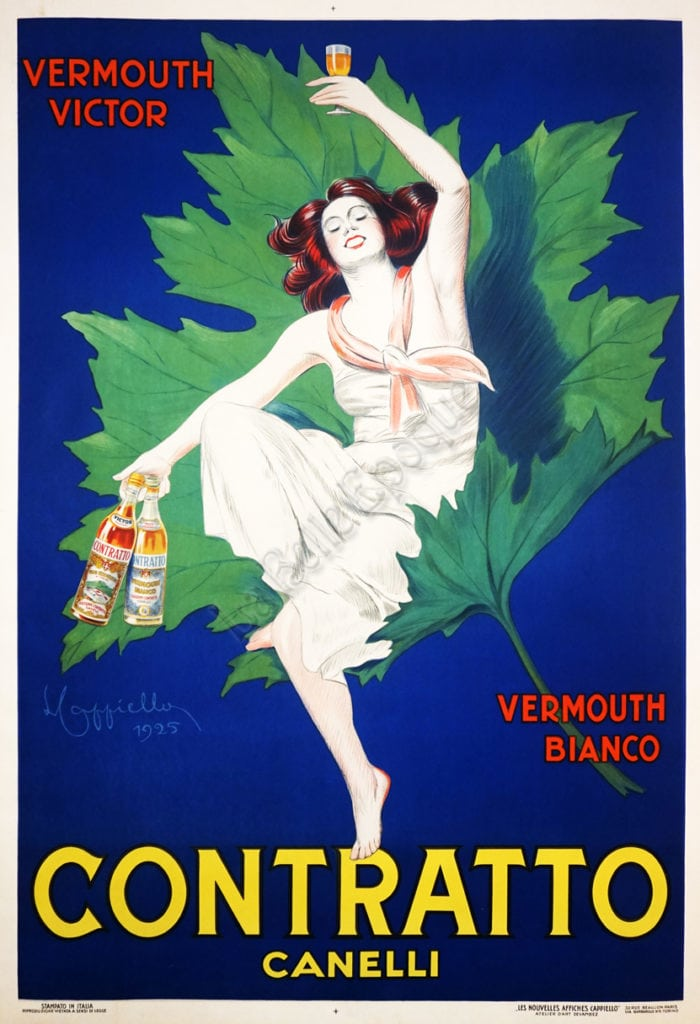 History of the Spritz - Contratto Vermouth vintage poster.jpg