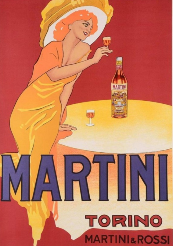 History of the Spritz - Martini & Rossi Vintage Poster.jpg