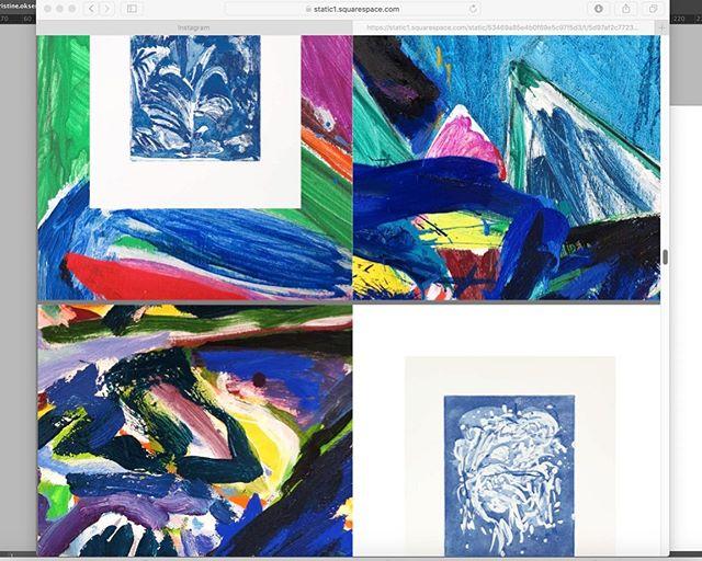 Graphic design by @gazetteozlo 🌊🌊🌊 self published catalogue 2018 #scenesfromthegarden #diy #artistsbook #kristineøksendal