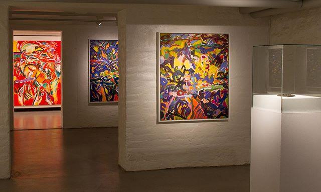 «A Painter's View» by Kristine Øksendal @kunstbankenhedmarkkunstsenter #kunstbankenhedmarkkunstsenter #kristineøksendal 📸Tobias Nordvik