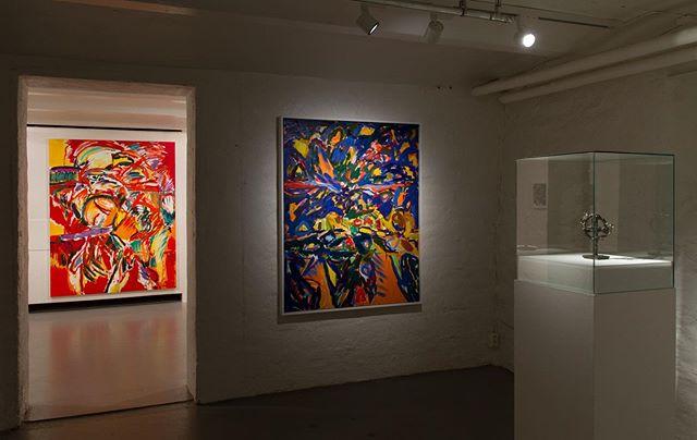 Last day to see the show «A Painter's View» #apainterview #kristineøksendal #hamar @kunstbankenhedmarkkunstsenter 📸Tobias Nordvik
