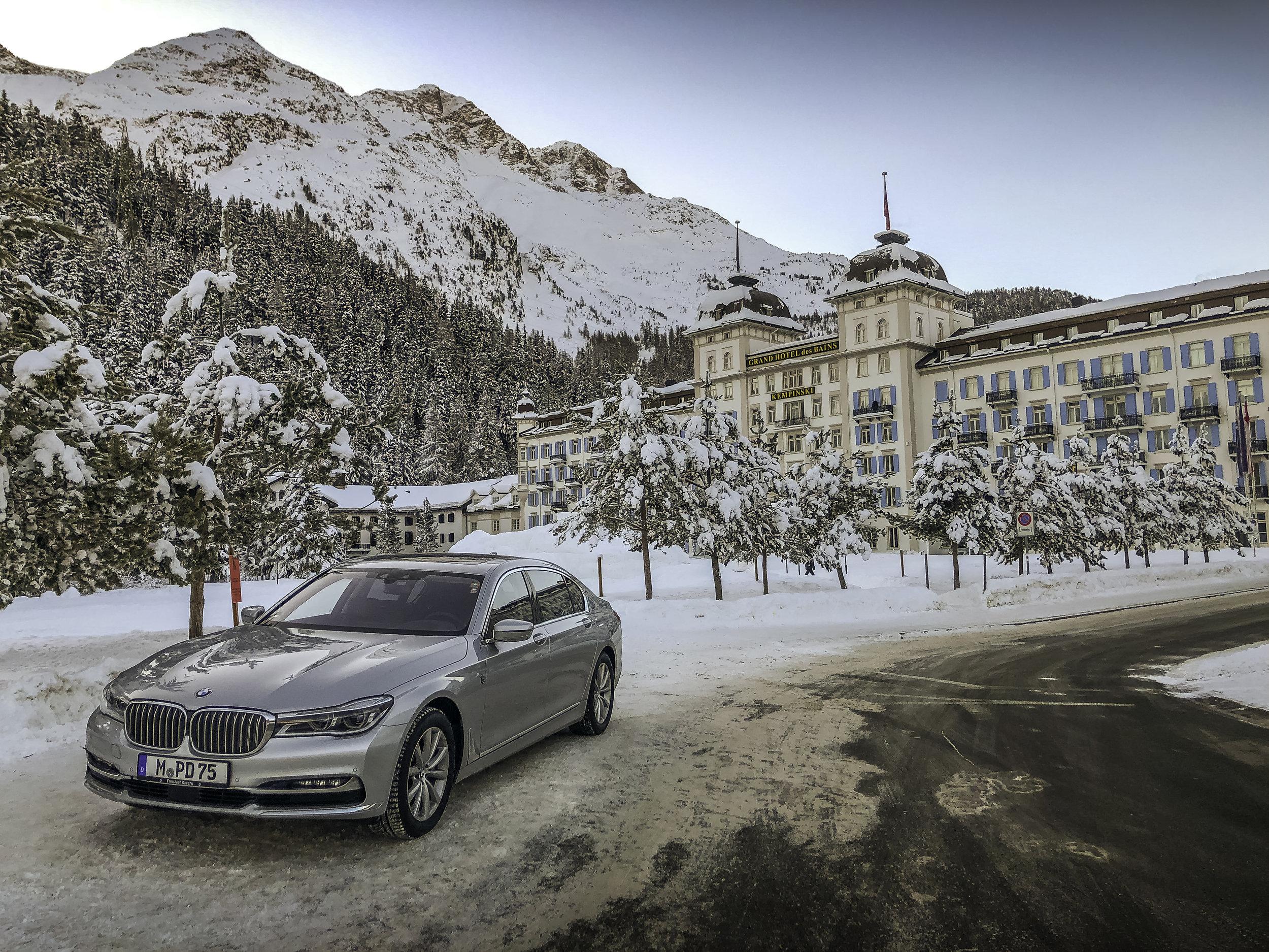 Kempinski Grand Hotel St. Moritz