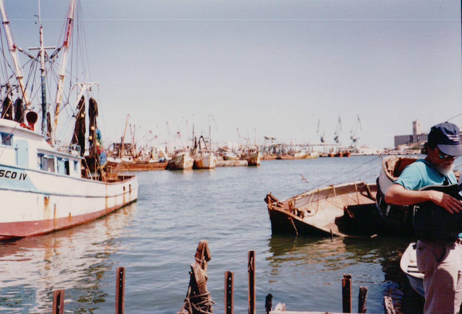 Shrimp trawlers, Guaymas, Sonora, Mexico
